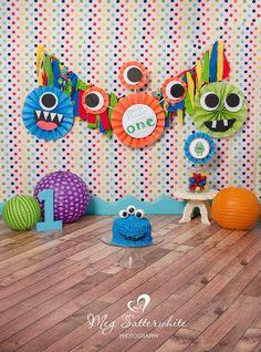 Little Monster Birthday Backdrop, Little Monsters Cake Smash, This Little… Little Monster Birthday, Monster 1st Birthdays, Monster Birthday Parties, Baby First Birthday, Birthday Fun, First Birthday Parties, Birthday Party Themes, First Birthdays, Theme Parties