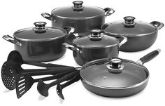Concord 16 Piece Nonstick Aluminum Cookware Set -- Discover this special product, click the image : Cookware Sets