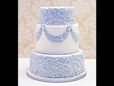 Karen Davies Sugarcraft Cake Decorating - Moulds - Sugar Flowers and Sugar Flower Garland Tutorial - YouTube