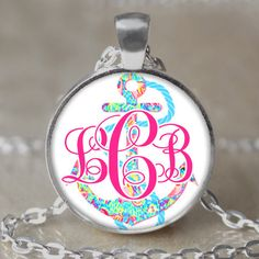 Hey, I found this really awesome Etsy listing at https://www.etsy.com/listing/229956692/monogram-anchor-lilly-pulitzer-inspired