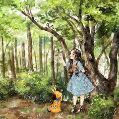 Иллюстрации корейской художницы Эппол / Aeppol's illustrations