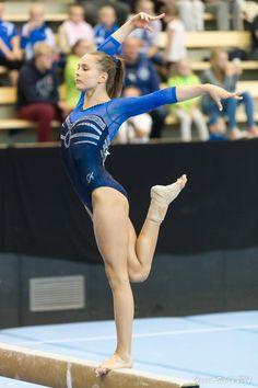 Erika Pakkala Competes in GK Gymnastics Leotard