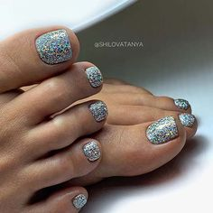 Glitter Toe Nails, Pink Toe Nails, Simple Toe Nails, Camo Nails, Pretty Toe Nails, Toe Nail Color, Cute Toe Nails, Feet Nails, Toe Nail Art