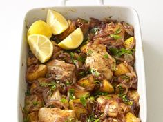 23 Spring Weeknight Dinners : Food Network… Spanish Chicken and Potato Roast.