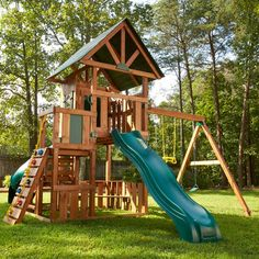 Swing-n-Slide Southampton Wood Complete Swing set