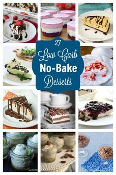 Leave the oven off with these easy no bake low carb desserts that can be whipped., Desserts, Leave the oven off with these easy no bake low carb desserts that can be whipped up in no time. No bake desserts are perfect for all your summer gathe. Dessert Simple, Keto Dessert Easy, Stevia, Low Carb Deserts, Low Carb Sweets, No Bake Desserts, Easy Desserts, Dessert Recipes, Keto Desserts