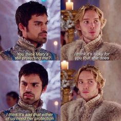 "#Reign 2x12 ""Banished"" - Conde and Francis"