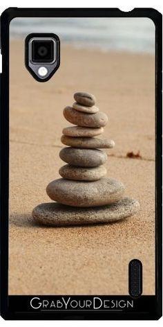 Coque Pour LG Optimus G (E975) - Pierre Méditation 987 - WonderfulDreamPicture