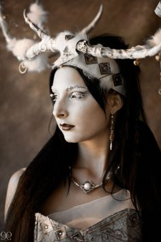 Rind, frost-giantess and goddess of women's protection. Rind is the mother of Odin's son Váli,