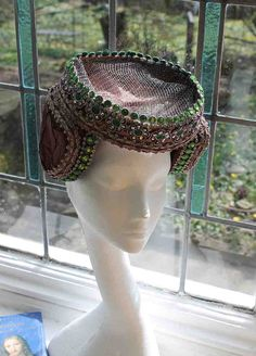 Medieval headressjewelled by Ionianswansongs on Etsy, £195.00