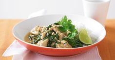 This easy-to-make aromatic curry is a delicious medley of traditional Thai flavours.