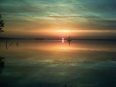 Sonnenuntergang Steinhuder Meer
