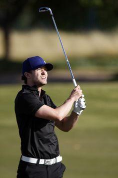 Justin Timberlake sporting the J Lindeberg gear.