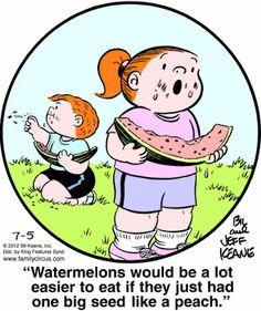 LOL  I agree  :)  Hence, why I eat seedless!  LOL
