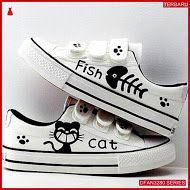 Dfan3280s50 Sepatu Dw 07 Poxing Wanita Kucing Ikan Sepatu Kets