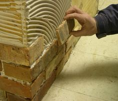 I'd like to put brick veneer on an interior wall using thin brick pieces, not panels. Answer: Installing a thin brick veneer will be much...