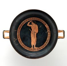 Attributed to the Antiphon Painter | Terracotta kylix (drinking cup) | Greek, Attic | Archaic | The Met
