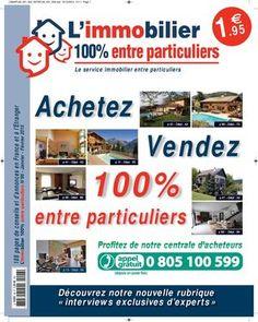 Profitez de la version numérique gratuite de notre journal d'annonces immobilières en vente 1€95 dans des milliers de points de vente- Edition AI 96 Janvier/Fevrier 2015 http://www.calameo.com/read/0010323873521ffac757e