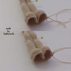 вязаное тело куклы