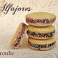 Les alfajores sont de délicieux petits sablés très appréciés en Amérique latine et originaire d'Andalousie. Ils sont traditionnellement...