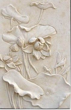 Sandstone Relief Wall Decoration | Nature Look | Pinterest