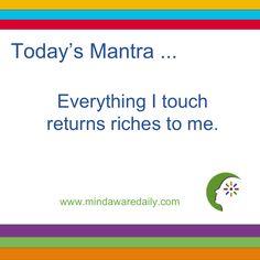 mantra zilnică de slăbit