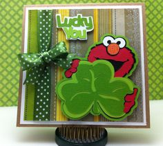 St. Paddy's day from Elmo Holiday Cricut cartridge