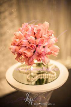 #freshflower #roses #minirose #pink #peachpink #beautiful #elegant #handmade #centerpiece #bridesbouquet #bridesmaidbouquet #bouquet