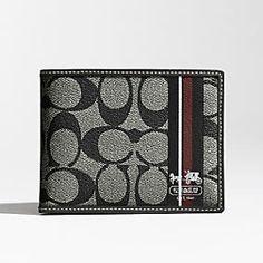 2c0c5e501495 Coach makes wallets for men! Coach Wallet, Coach Purses, Coach Handbags  Outlet,
