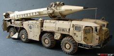 DRAGON 3520 SS-1c SCUD B w/ MAZ-543 МАЗ-543 с ракетной установкой 9К72 «Эльбрус» / SS-1с Scud B (Dragon, 1/35)