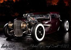 pictures of rat rod trucks Dually Trucks, Dodge Trucks, Ford, Old School Cars, Weird Cars, Love Car, American Muscle Cars, Hot Cars, Dream Cars