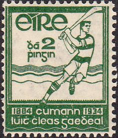 Ireland 1934 Gaelic Athletic Association SG 98 Fine Mint  SG 98 Scott 90