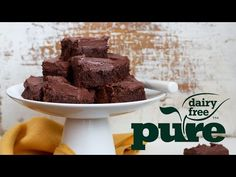 Recipe - Rich Frosted Chocolate Brownies - Pure Dairy Free