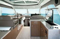 Custom Yacht Design. #boats #yachts #hiddentv