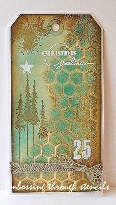 Kath's Blog......diary of the everyday life of a crafter: Layering Stencil Fun...