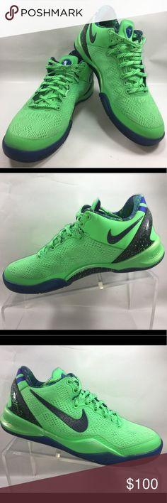 check out 20fb7 f7185 Nike Zoom Kobe 8 Superhero Poison Green Hyper Blue