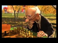 "Pixar Short: ""Geri's Game"" (Use to practice comprehension strategies, like predicting, asking questions, inferring, and drawing conclusions.)"