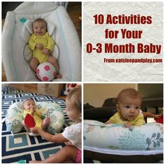 Learning activities to do with your newborn (0-3 month) baby