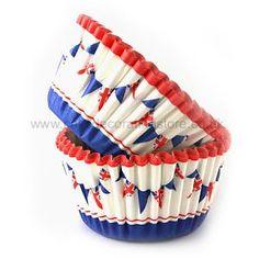 36 Jubilee Cupcake Cases