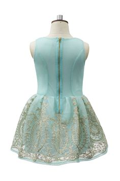 Welcome the latest edition from our S/S17 collection, the turquoise and gold fairy tale dress. A flawless new season piece from David Charles, this fresh coloured statement dress is ideal to wear for parties, pageants and weddings. If your cherub wants to look and feel like a beauty queen in time for spring, this glistening gown is the staple to own. Available in a pastel turquoise shade complete with embellished gold skirt design for a luxurious look, this designer piece is inspired by...