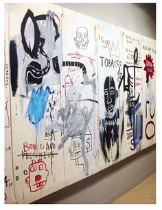 death by heroin overdose) Jean Basquiat, Jean Michel Basquiat Art, Tachisme, Andy Warhol, Pop Art, Basquiat Paintings, Street Art, Outsider Art, Oeuvre D'art
