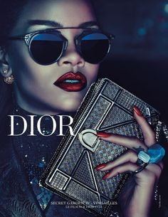 Rihanna's well-anticipated Dior campaign is finally here! #dior #rihanna