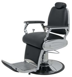 Shelby Barber chair in Black Color