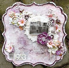 Swirlydoos Scrapbook Kit Club: Enchanted evening projects by Helena  swirlydoos.com