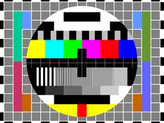 I grew up with this television test image.