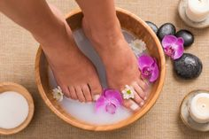 Apple Cider Vinegar Foot Bath