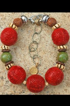 Byodoin Temple Collar: Asian-Inspired Carved Red Cinnabar Ball Choker Statement Necklace Delicate Gold Necklace, 14k Gold Necklace, Drop Necklace, Diamond Solitaire Necklace, Statements, Unique Necklaces, Kugel, Fine Jewelry, Red Jewelry