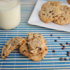 Virtually Homemade: Salted Caramel Chocolate Chip Cookies