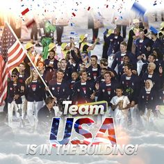2016 Rio Olympics Team USA Opening ceremony