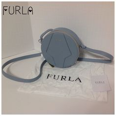 FURLA Perla Nuvola Leather Bag If you love FURLA bags, I have plenty.  The ones in my current profile are my favorites, right now.  This is 100% Leather.  775097 B BES4 VMT Perla.  Colour: Nuvola 006. This has been in my closet since last year, but they are new.  The dust bags if you have bought purses with them before are not always perfect which is why I try to stop them from putting the purses in them.  I cannot always get them to leave them in the purse.  Anyway, the purse is great…